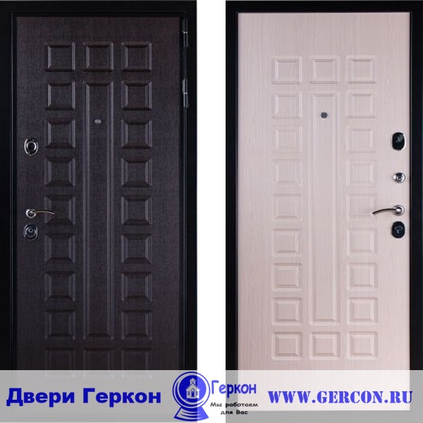 металлические двери 2 мм установка