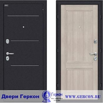 стальная дверь капучино